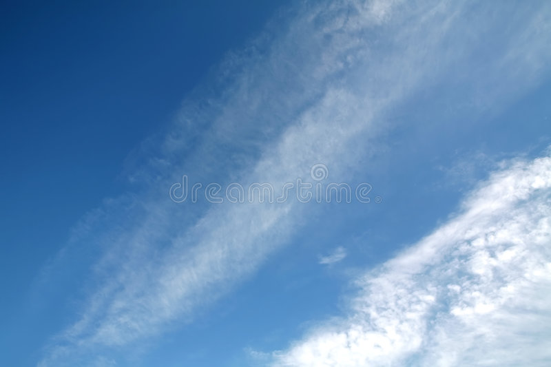 Download Blue Sky stock image. Image of blue, copy, white, background - 2582245