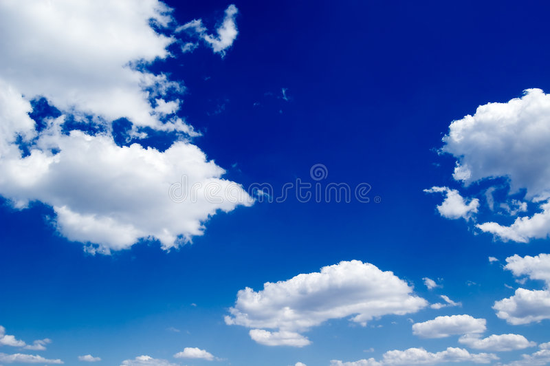 The Blue Sky Royalty Free Stock Photos