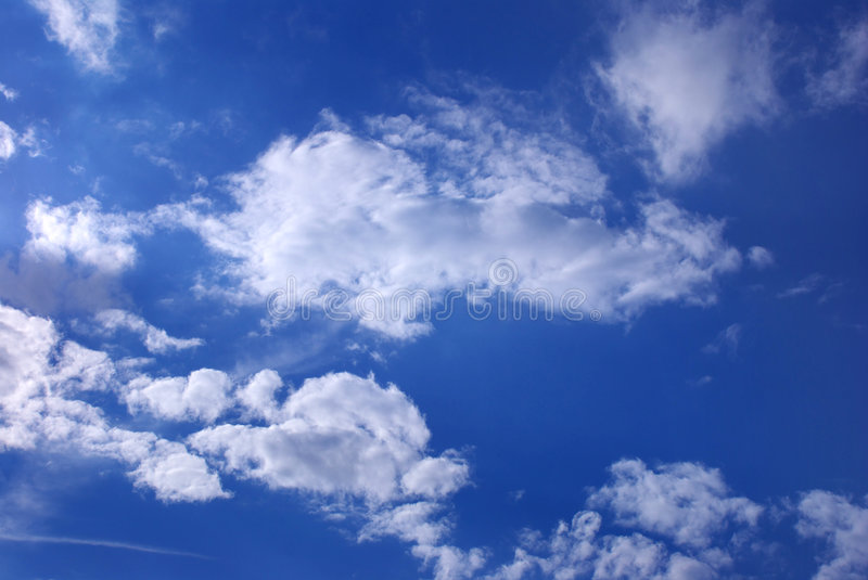 Download Blue Sky stock photo. Image of cloud, background, white - 2914838
