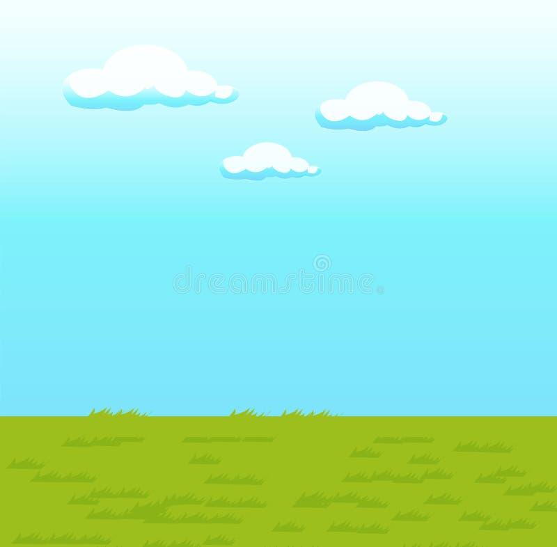 Blue sky stock illustration