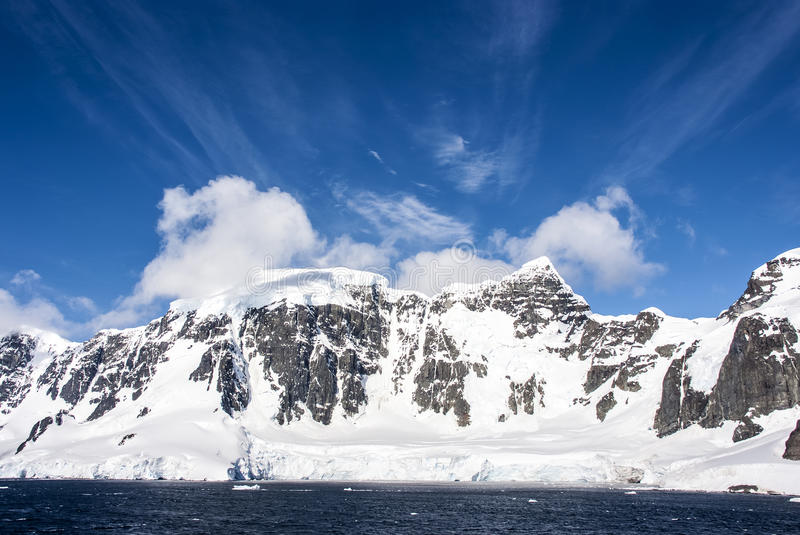 Download Blue sky in Antarctica stock image. Image of ecosystem - 39689981