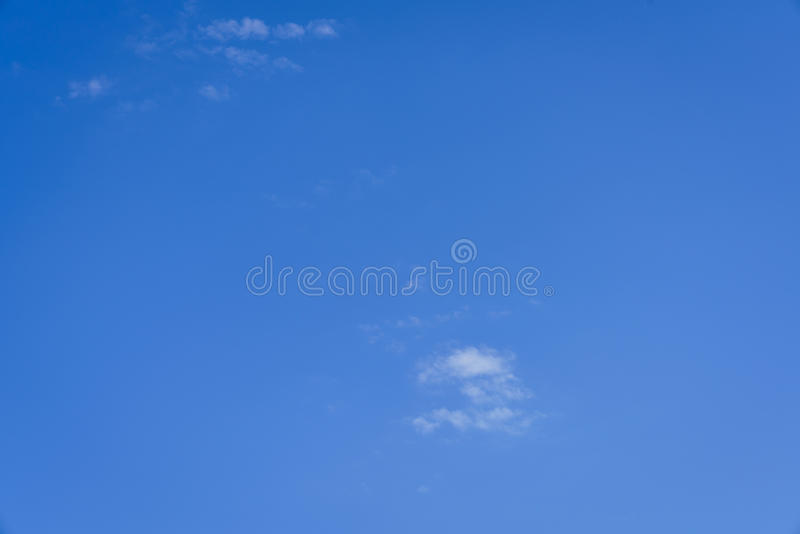 A Blue Sky Backing royalty free stock photography