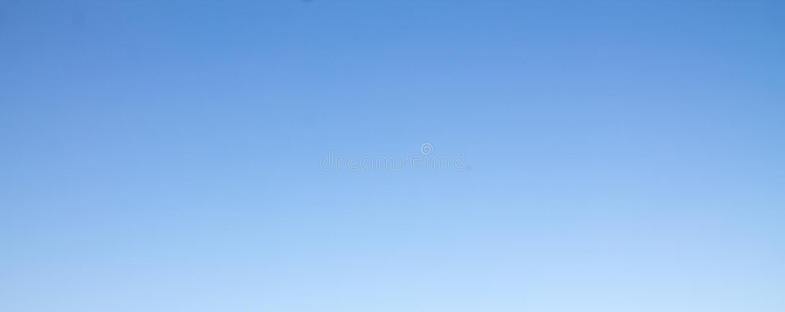 Blue sky on clear days. Background or texture royalty free stock images
