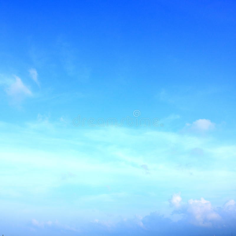Download Blue sky  and cloud stock photo. Image of firmament, blue - 20177318