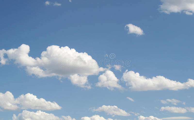 Download Blue sky with clouds stock image. Image of paradise, sunny - 10513177
