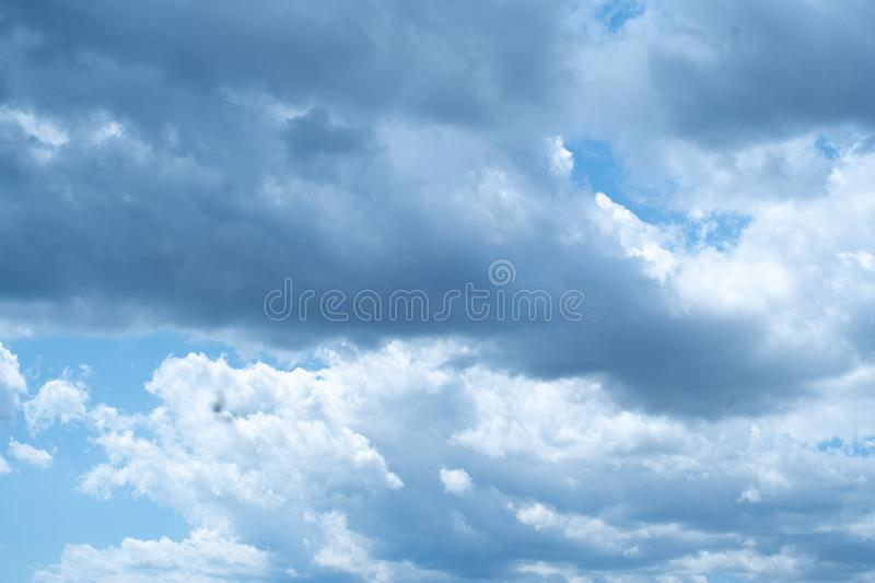 Sky clouds. Blue sky. Clouds and clouds stock photos