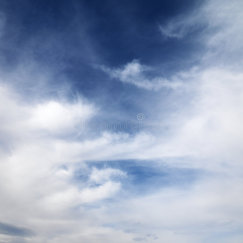 Download Blue Sky With Clouds. Royalty Free Stock Photos - Image: 2051818