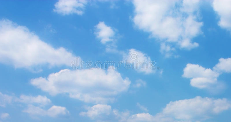 Blue Sky. With Clouds