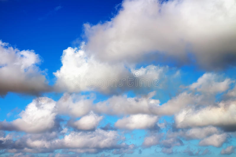 Download Blue sky with clouds. stock photo. Image of light, daylight - 35088760