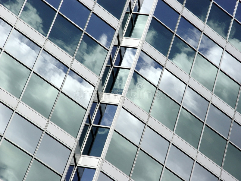 Download Blue Sky And Clouds Reflection Stock Photo - Image: 20374