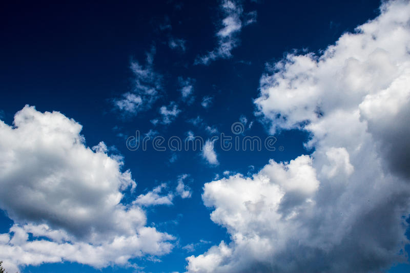 Download Blue sky with clouds stock image. Image of summer, nature - 83721519