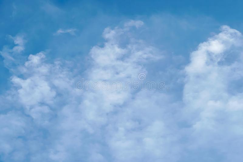 Blue sky with cloud bright. Blue sky with cloudy at after noon stock images