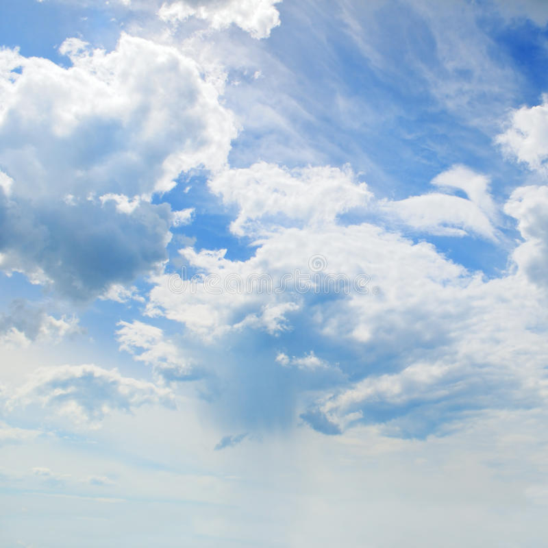 Download Blue Sky And  Cumulus Clouds Stock Image - Image: 83705197