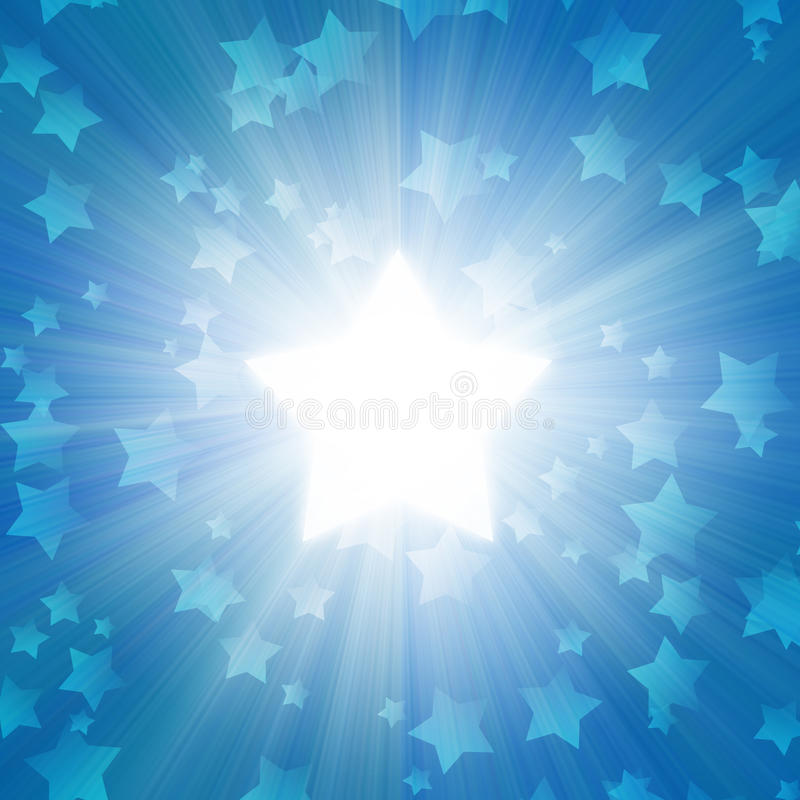Download Blue Sky With A Glow Stock Photography - Image: 13681442