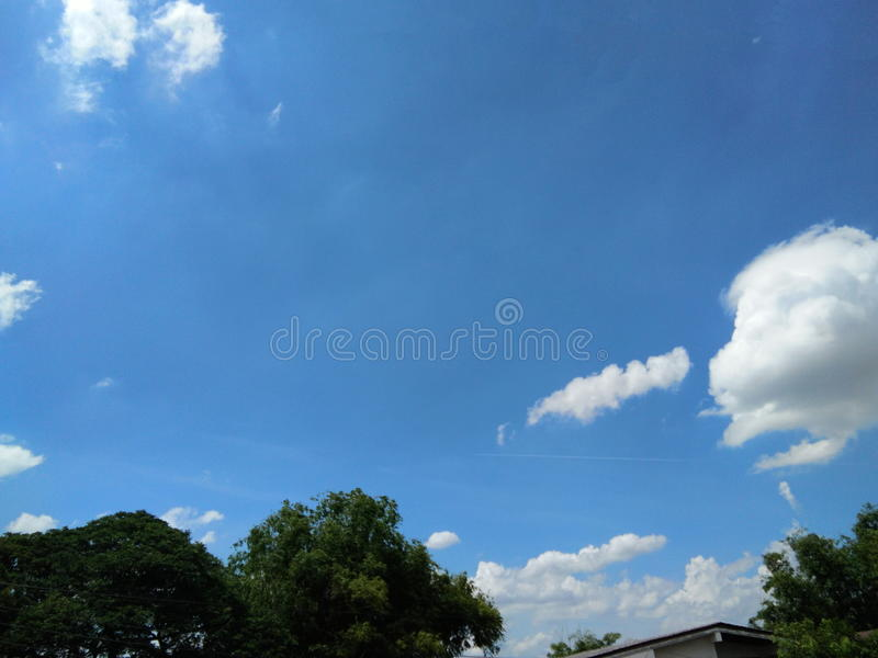 Download Blue Sky And Little White Clouds Stock Image - Image: 94996027
