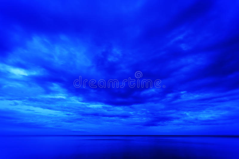 Download Blue sky at morning stock image. Image of coast, beautiful - 28492183