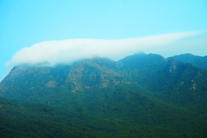 Blue Sky and Mountain royalty free stock photos