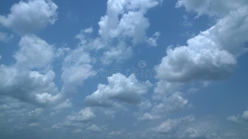 Blue sky and nice cloud. This is a blue sky and nice cloud royalty free stock images