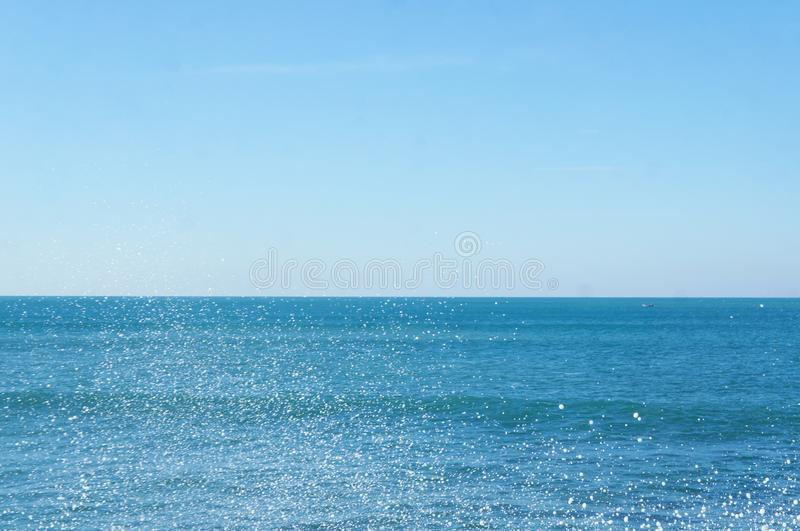 Sea spray in the Ocean royalty free stock photos