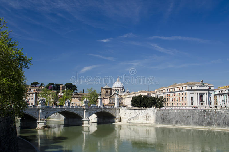 Download The blue sky over Rome stock image. Image of catholicism - 30565677