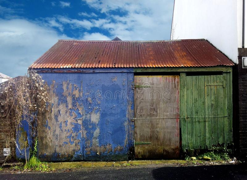 Blue, Sky, Property, House stock images