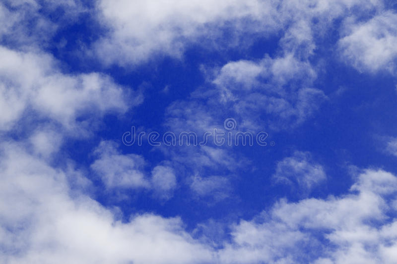 Download Blue Sky and puffy clouds stock image. Image of summer - 25378201
