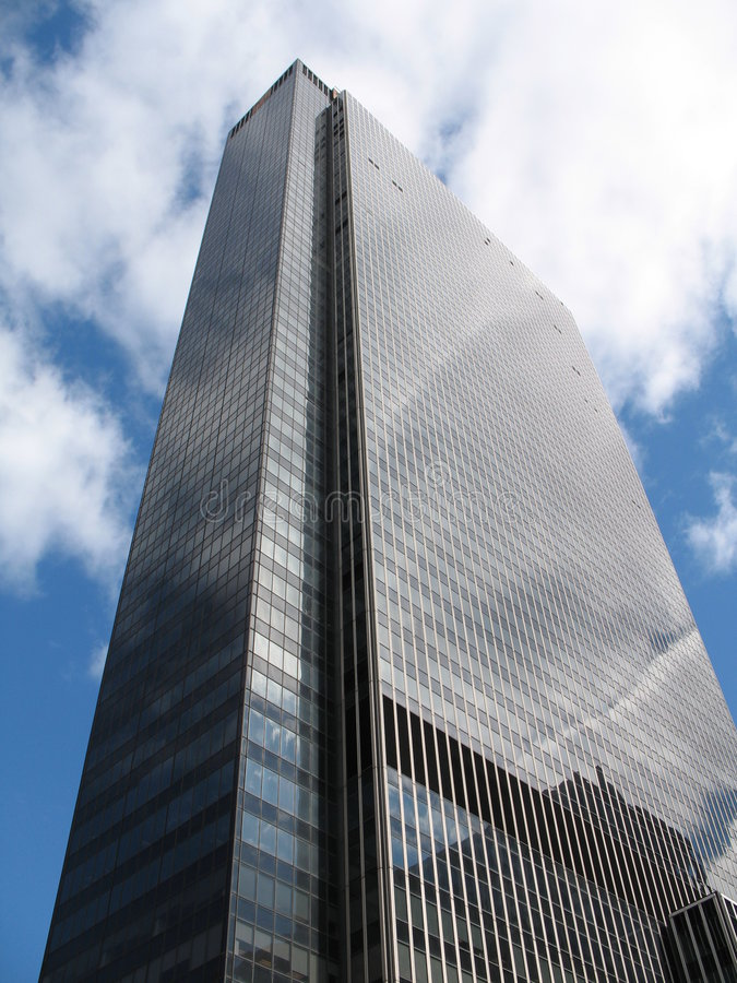 Free Blue Sky Skyscraoer Stock Photo - 2623490