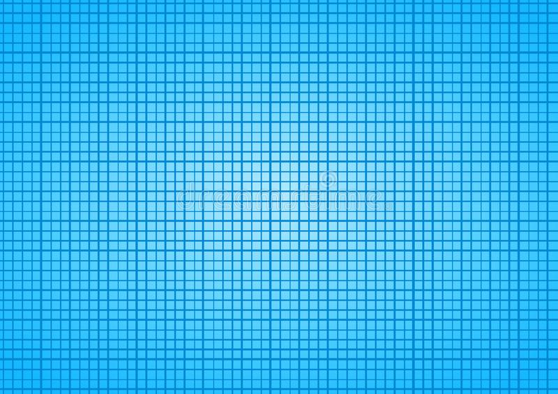 Blue Sky Squares Tile Grid background vector illustration
