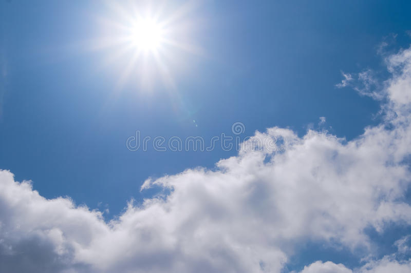 Download The Blue Sky And Sun Stock Image - Image: 10072911