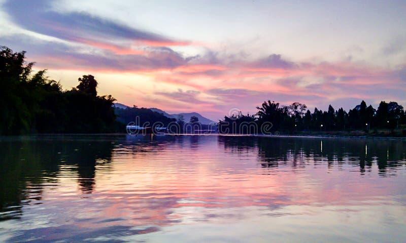 Blue sky Thailand royalty free stock photos
