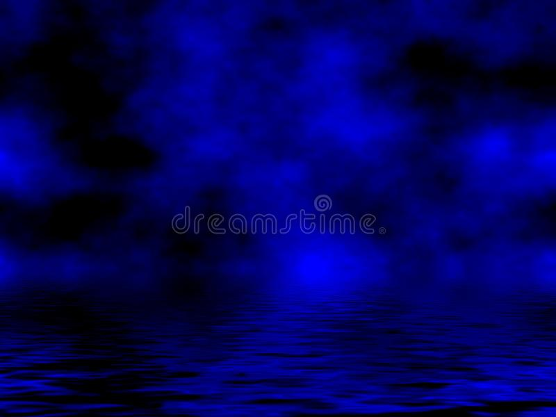 Blue Sky & Water royalty free stock images