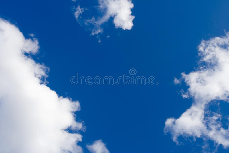 Download Blue sky with white clouds stock photo. Image of clean - 13413318