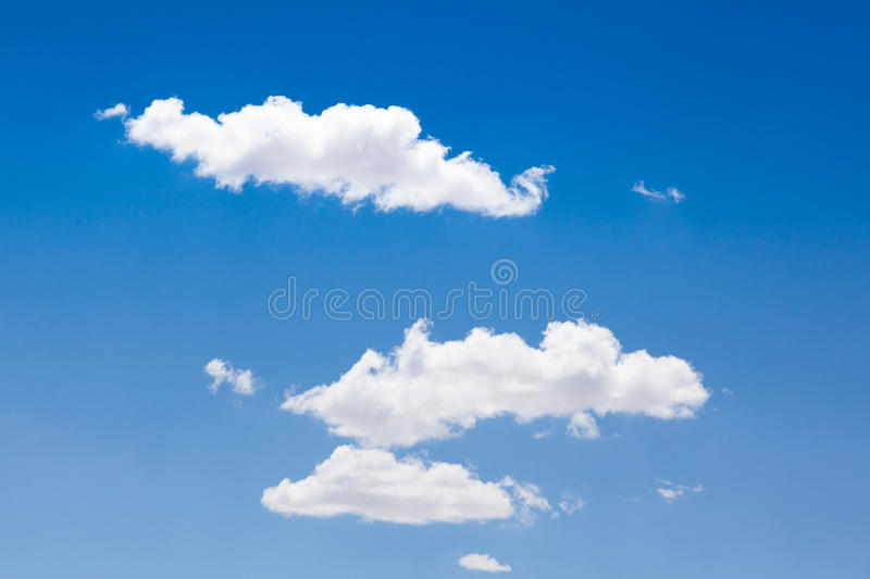 Download Blue sky with white clouds stock image. Image of cloudy - 26195659