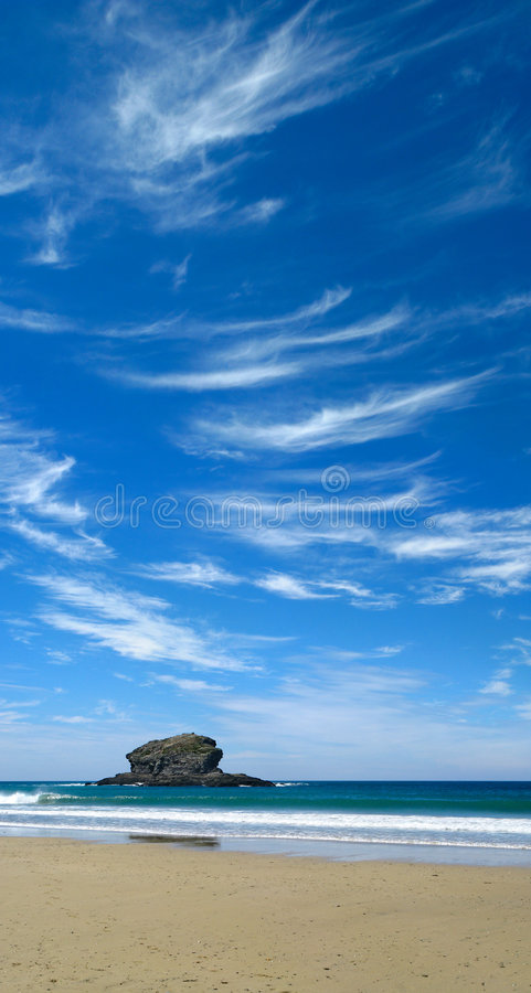 Blue Sky And White Clouds. Royalty Free Stock Photography