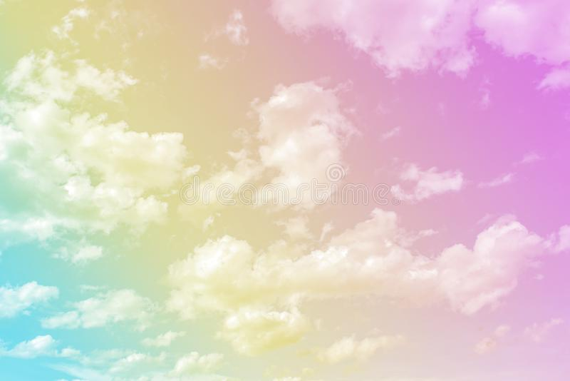 Beautiful pastel Blue sky and white cloudy background ,sky clouds scape in countryside landscape of Thailand,fresh and relax stock images