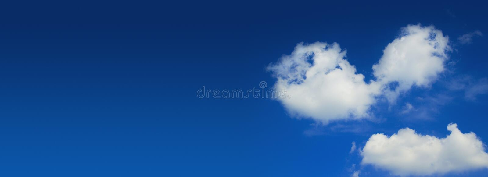 Download Blue sky wide panorama stock image. Image of panorama - 14531733