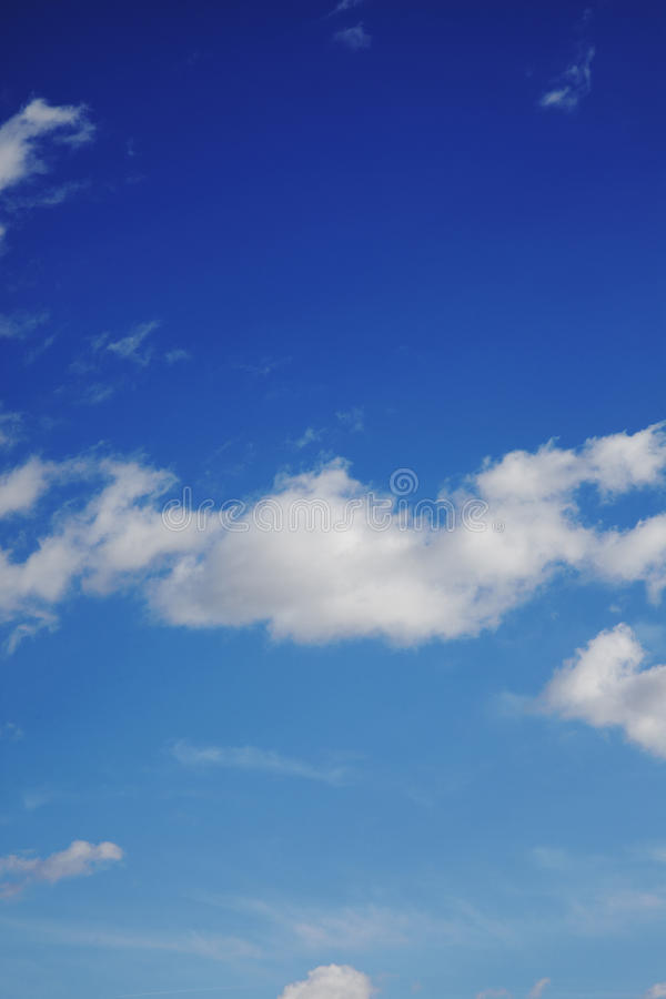 Free Blue Sky With Clouds Stock Photos - 13229693