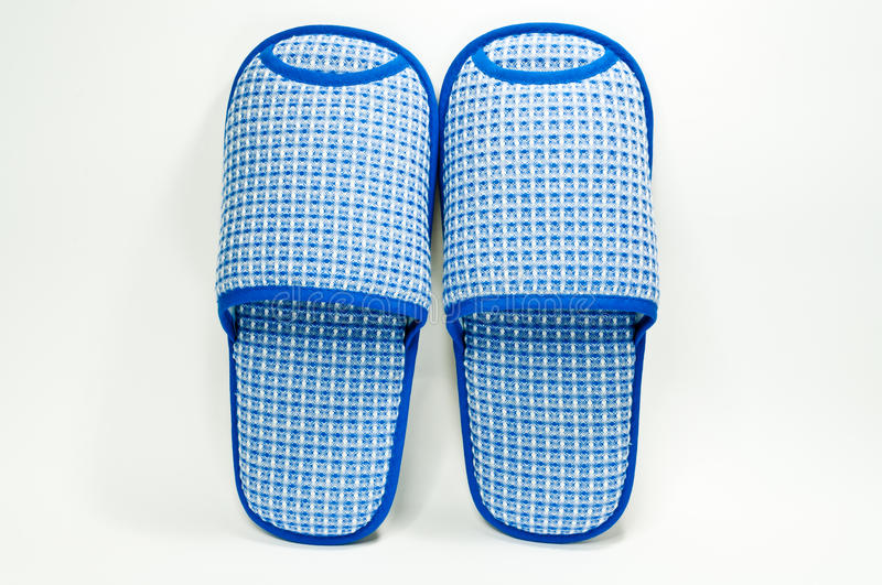 Download Blue Slippers stock photo. Image of fluffy, cozy, slipper - 25856934