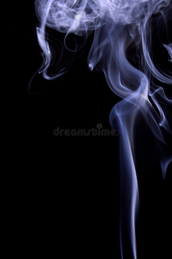 Blue Smoke royalty free stock photos