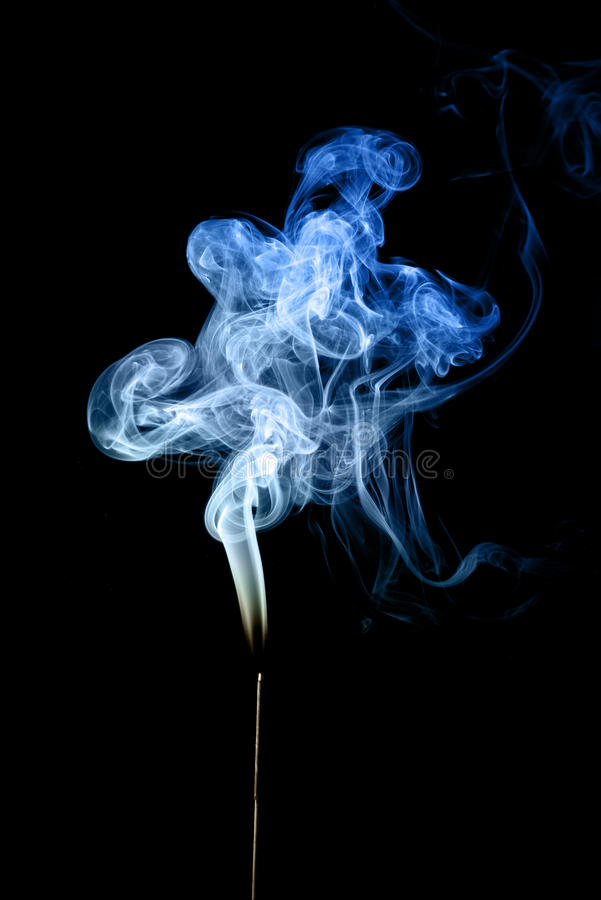 Download Blue smoke stock photo. Image of artistic, fire, abstracts - 24483284