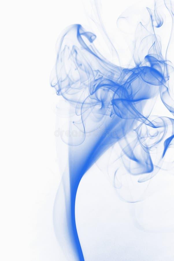 Blue smoke royalty free stock image