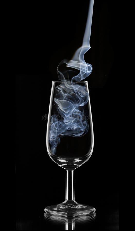 Blue smoke sherry stock images