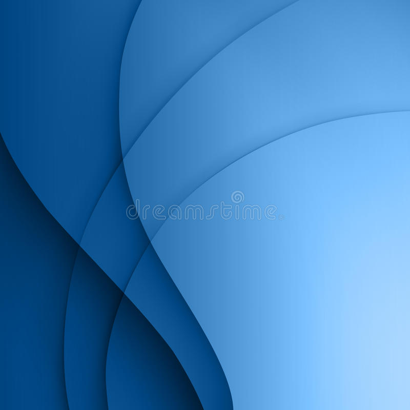 Free Blue Smooth Twist Light Lines Background. Stock Images - 33349104