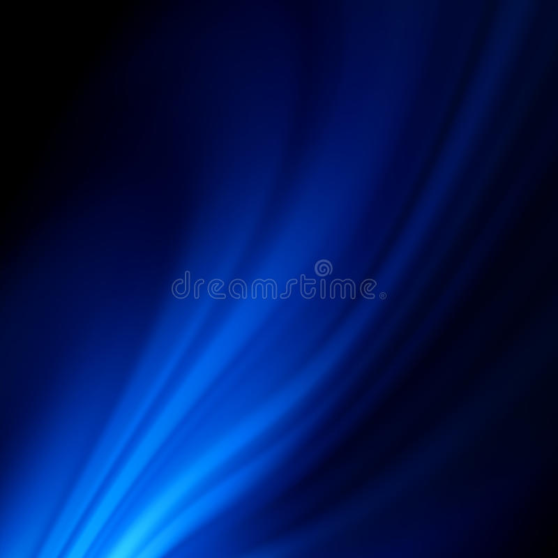 Blue Smooth Twist Light Lines Background. EPS 8 Royalty Free Stock Images