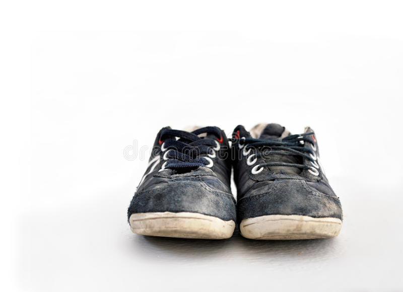 Download Blue Sneakers Isolated On White Stock Photo - Image: 19731902