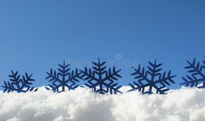 Download Blue snowflakes stock photo. Image of shining, sparkles - 23151200