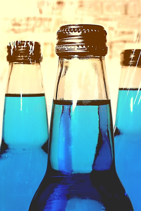 Download Blue Soda Pop stock image. Image of beverage, full, drink - 807183