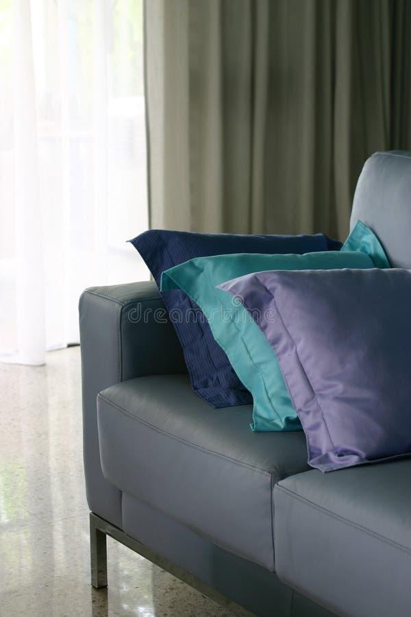 Blue Sofa stock photos