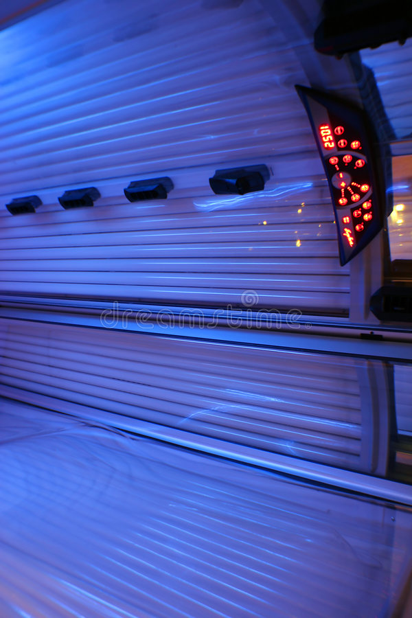 Blue Solarium Royalty Free Stock Photo