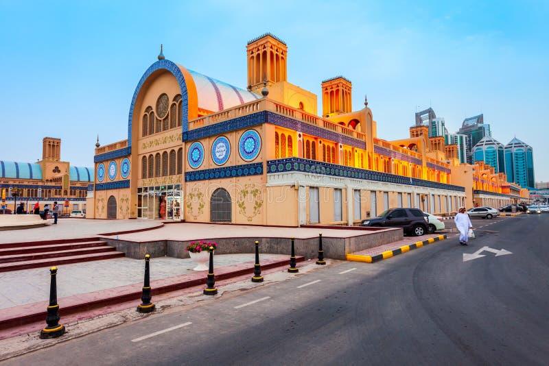 Blue Souk Central Market, Sharjah City in Vereinigte Arabische Emirate oder VAE stockbild